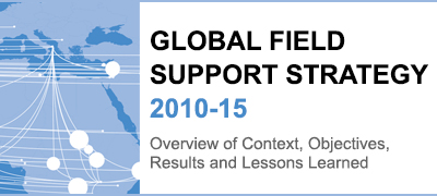 Global Field Support Strategy 2010-2015